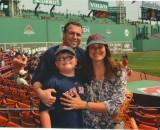 Thumbnail for Rep. Gordon and family at a Red Sox game.