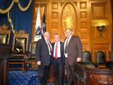 Thumbnail for Rep. Roy with Speaker DeLeo and constituent and fellow Town Councilor Robert Dellorco