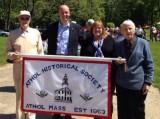 Thumbnail for REP. Whipps with members of the Athol Historical Society