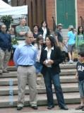 Thumbnail for Rep. Keenan visiting a Farmer's Market