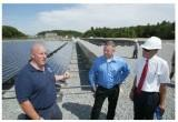 Thumbnail for Rep. Golden at Chelmsford Solar Panel