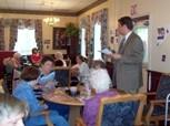 Thumbnail for Rep. Diehl at the Sachem Nursing Home