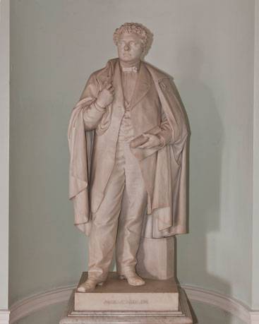 sculpture of ANDREW, John Albion