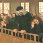 mural of 1697: The Dawn of Tolerance in Massachusetts: Public Repentance of Judge Samuel Sewall for his Action in the Witchcraft Trials