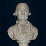 bust of WASHINGTON, George