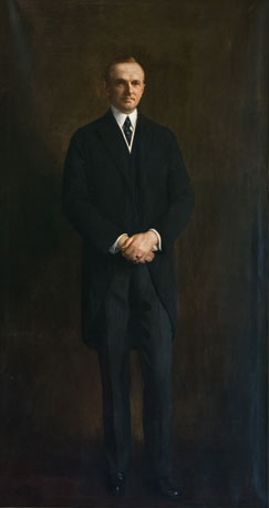 portrait of COOLIDGE, John Calvin