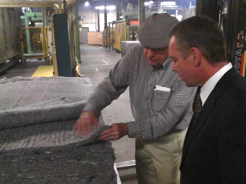 Rep. Roy touring the Clark-Cutler-McDermott Company