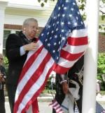 Thumbnail for Senator Moore at a Flag raising
