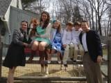 Thumbnail for Rep. Shawn Dooley and his family with their pony Razzie, Easter 2013