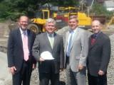 Thumbnail for Senator Lewis and Rep. Brodeur with Melrose Mayor Robert Dolan