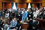 Thumbnail for High school students attend Student Government Day at the State House