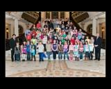 Thumbnail for Elementary students visiting the State House